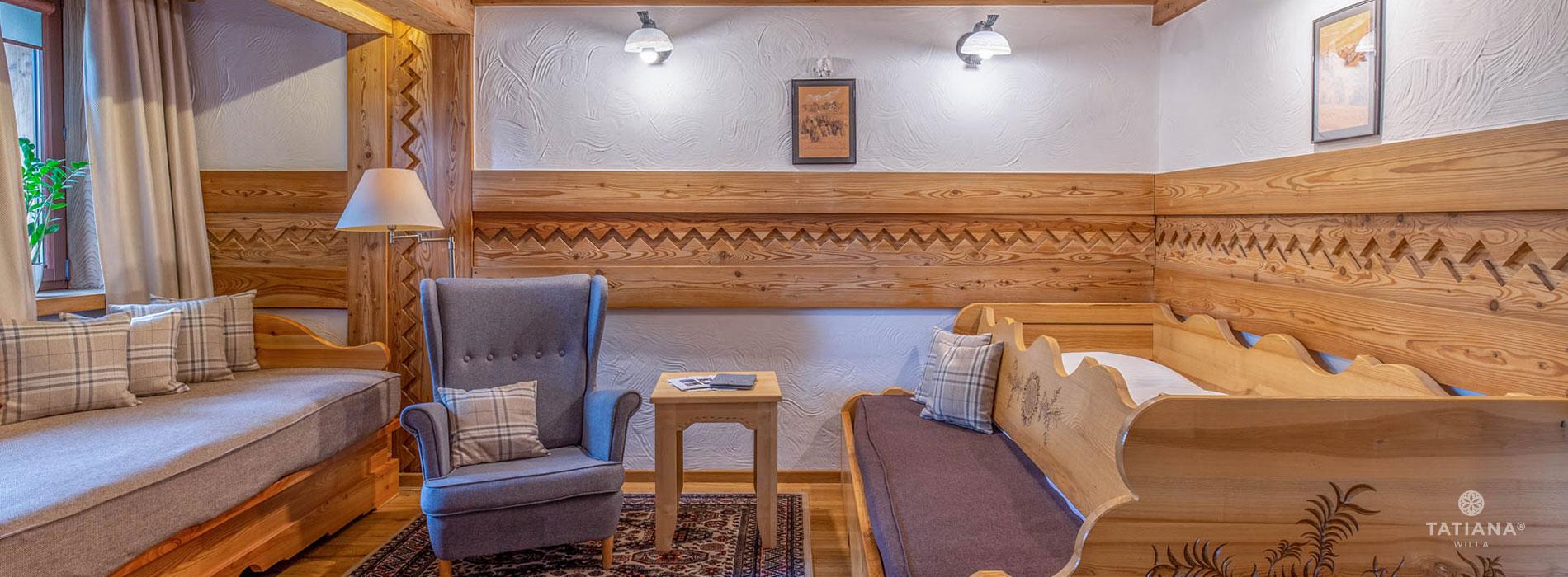 Apartament Premium 2- salon