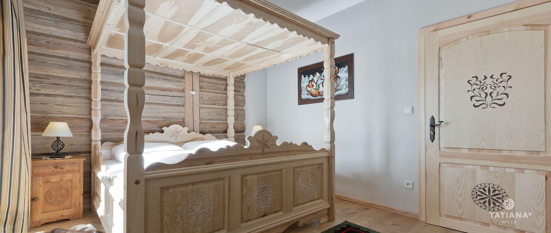 Apartament Lux 14- sypialnia