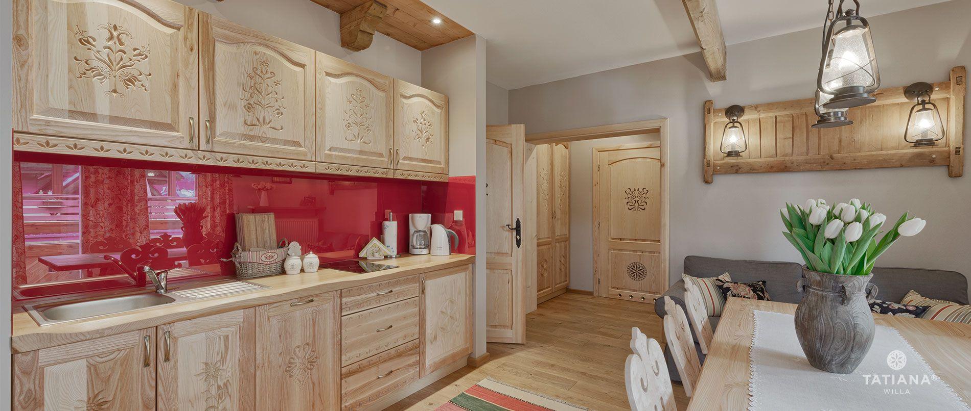 Apartament Lux 15- aneks kuchenny
