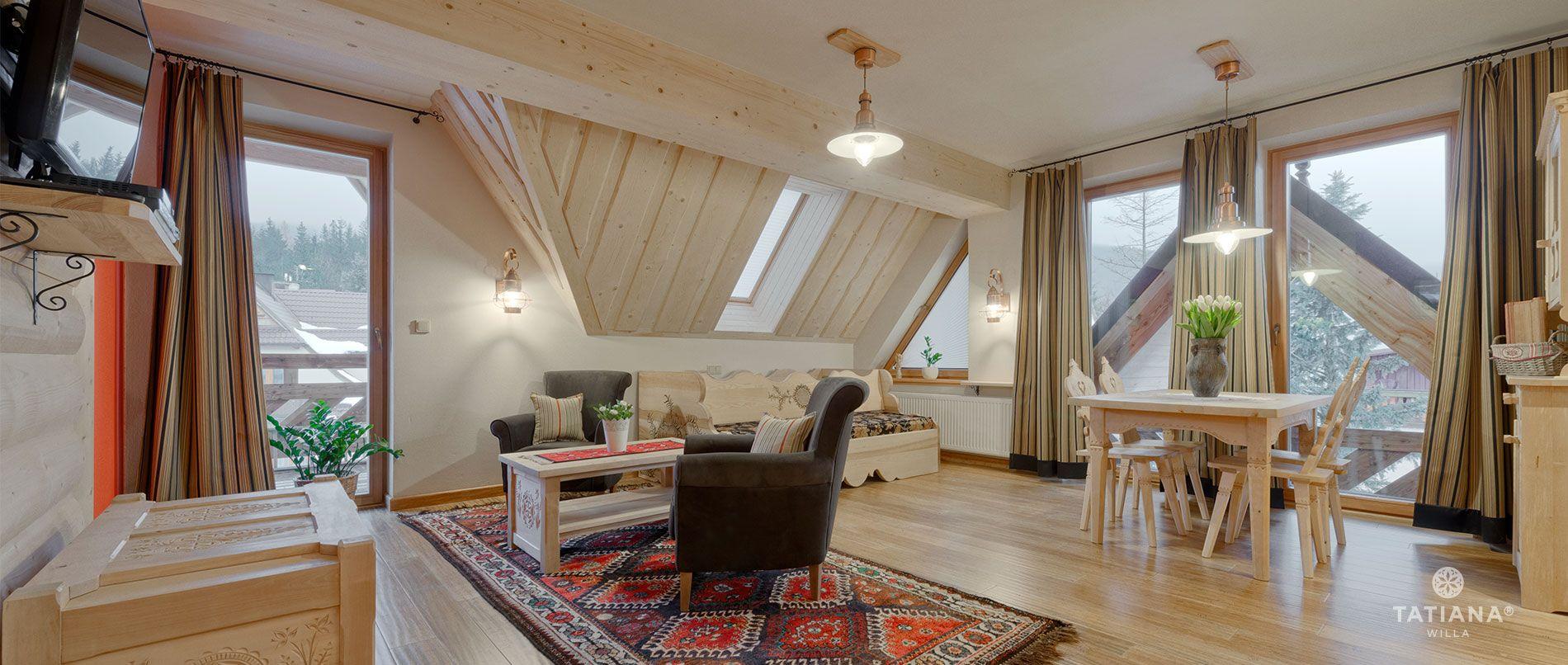 Apartament Lux 16- salon