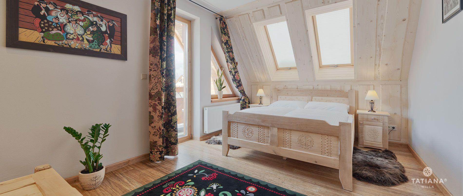 Apartament Lux 16- sypialnia