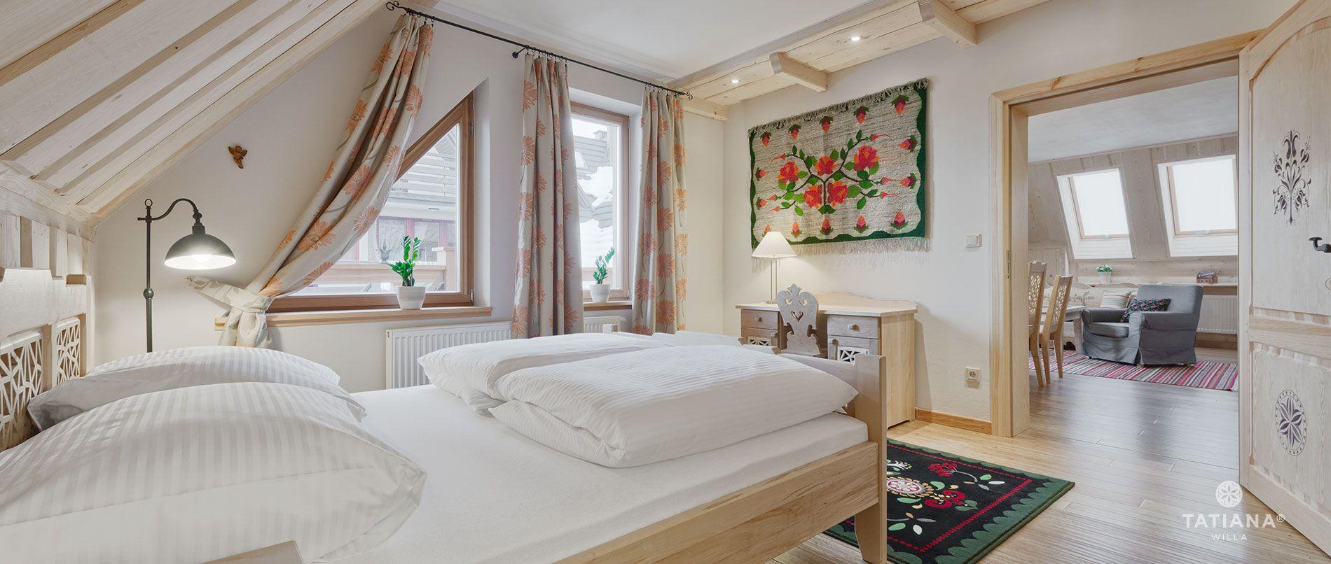Apartament Lux 17- sypialnia