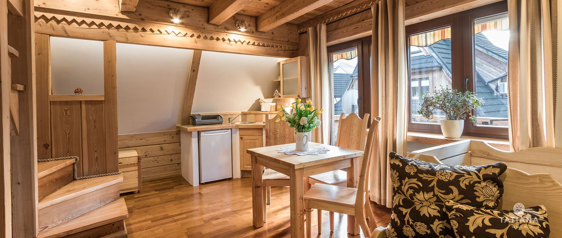 Apartament Premium 6- aneks kuchenny