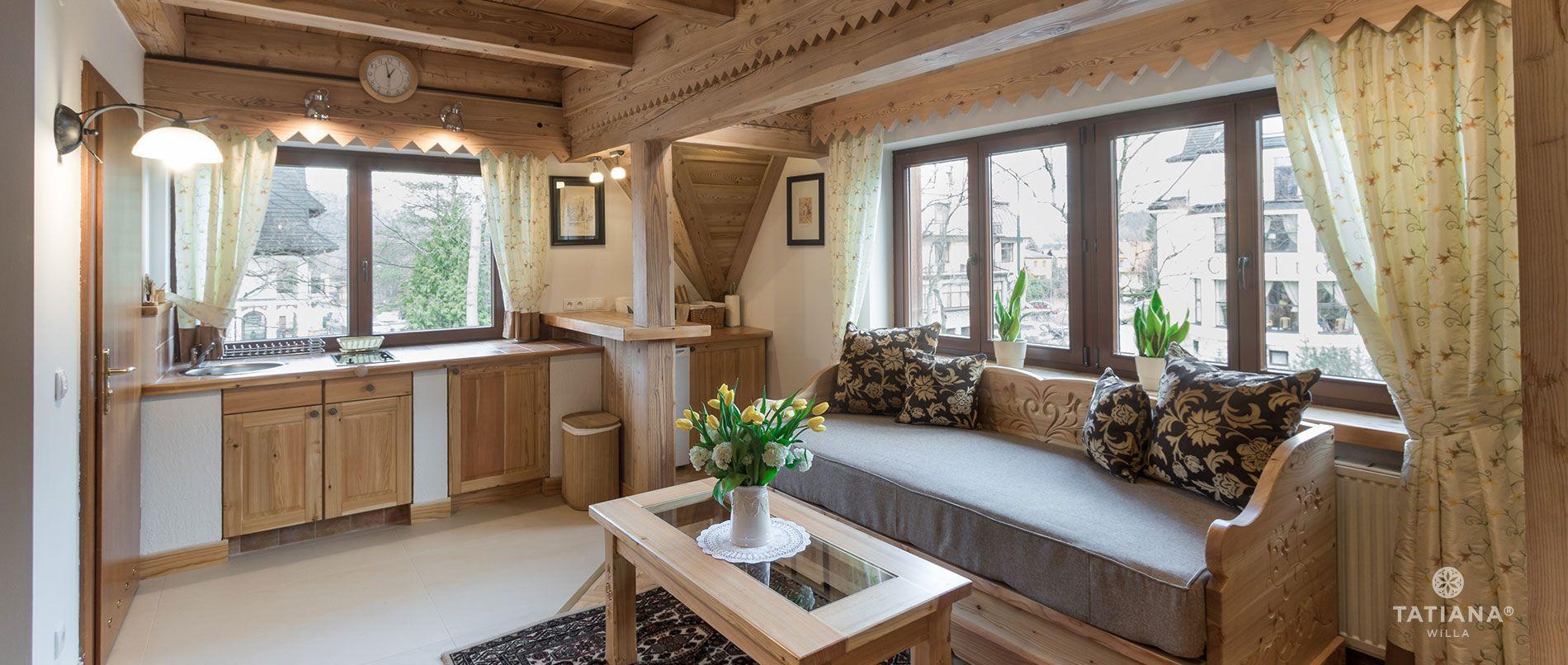Apartament Premium 8- aneks kuchenny
