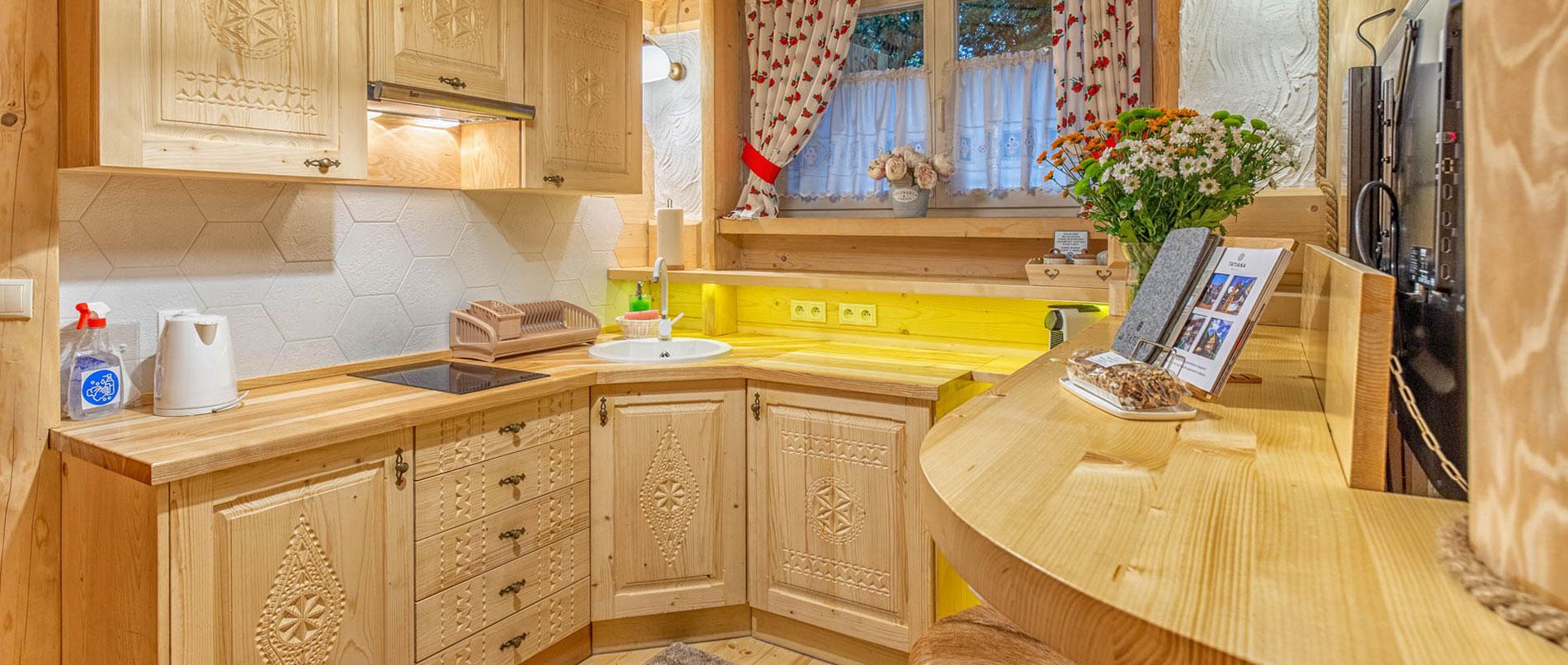 Apartament Premium 1- aneks kuchenny