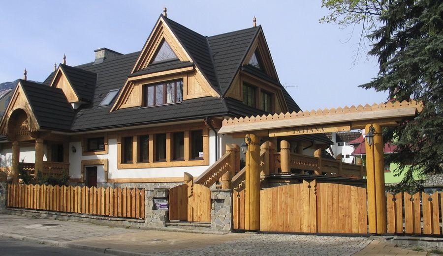 noclegi apartamenty zakopane Grunwaldzka 12A willa Tatiana