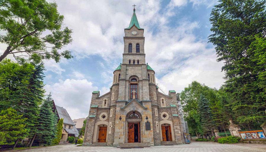 kościół świętej rodziny krupówki