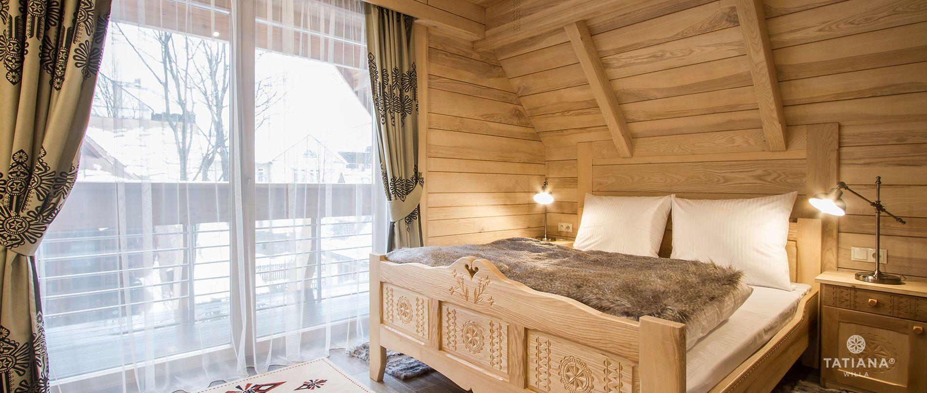 Apartament Jesionowy - sypialnia