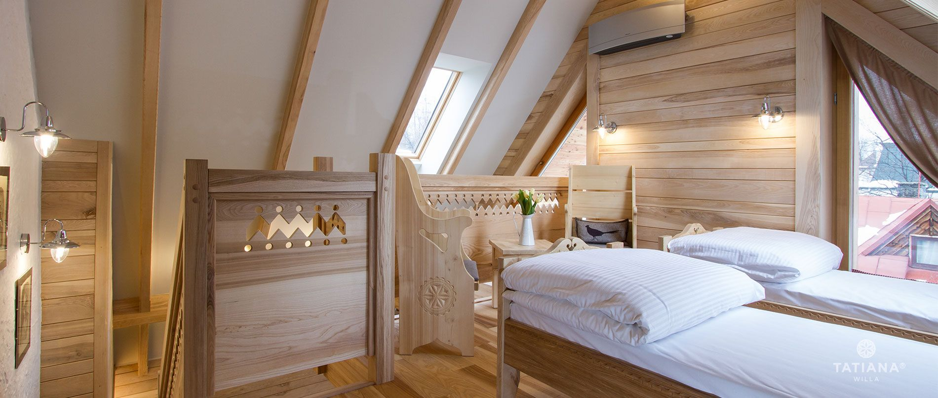 Apartament Jesionowy- druga sypialnia