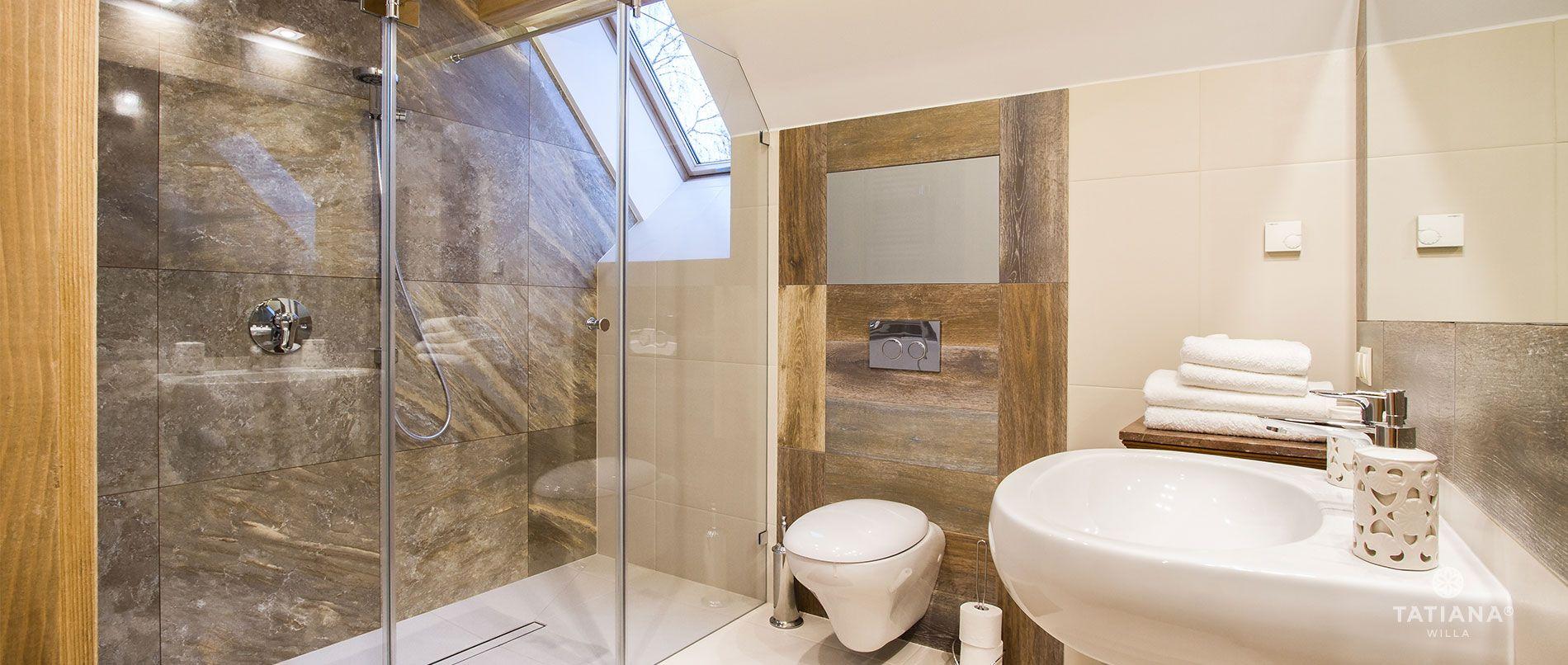 Apartament Stary Smrekowy - łazienka