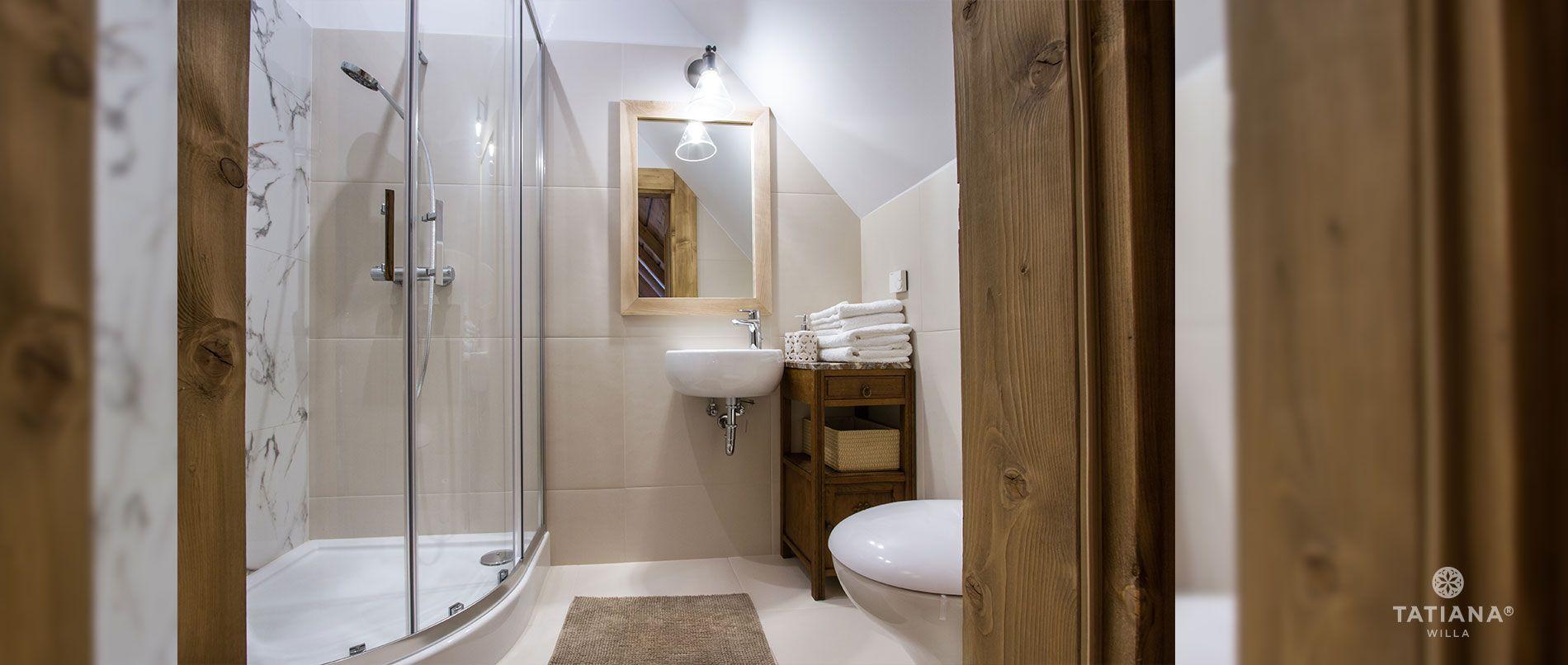 Apartament Stary Smrekowy - druga łazienka
