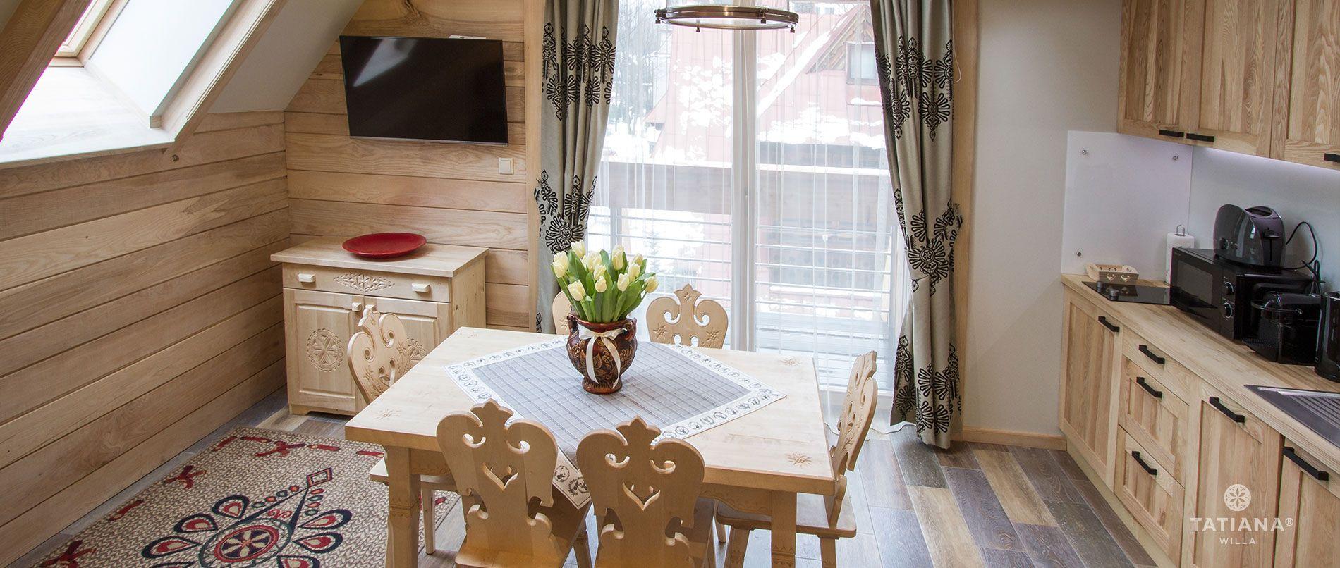 Apartament Jesionowy - kuchnia