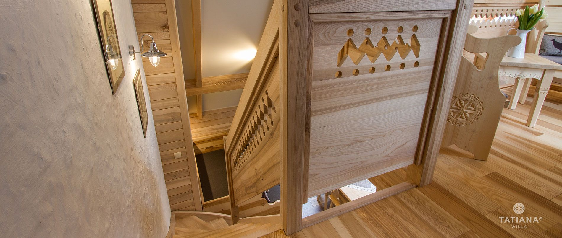 Apartament Jesionowy -  schody