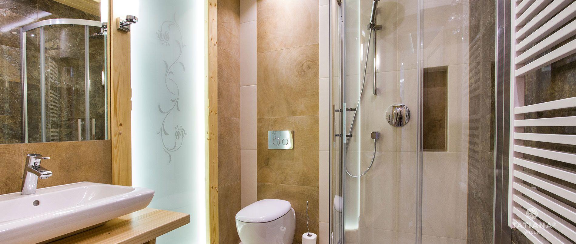 Apartament Sosnowy- łazienka