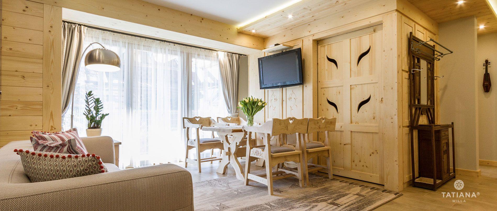 Apartament Sosnowy- salon