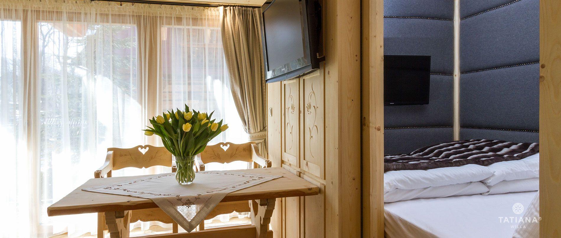 Apartament Sosnowy - druga sypialnia