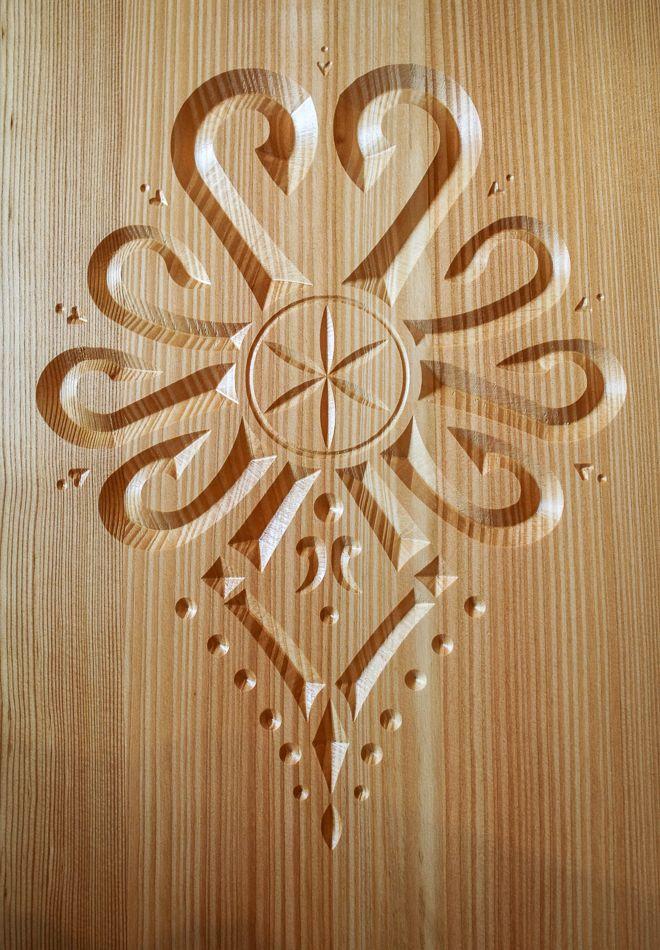 rzeźba w drewnie