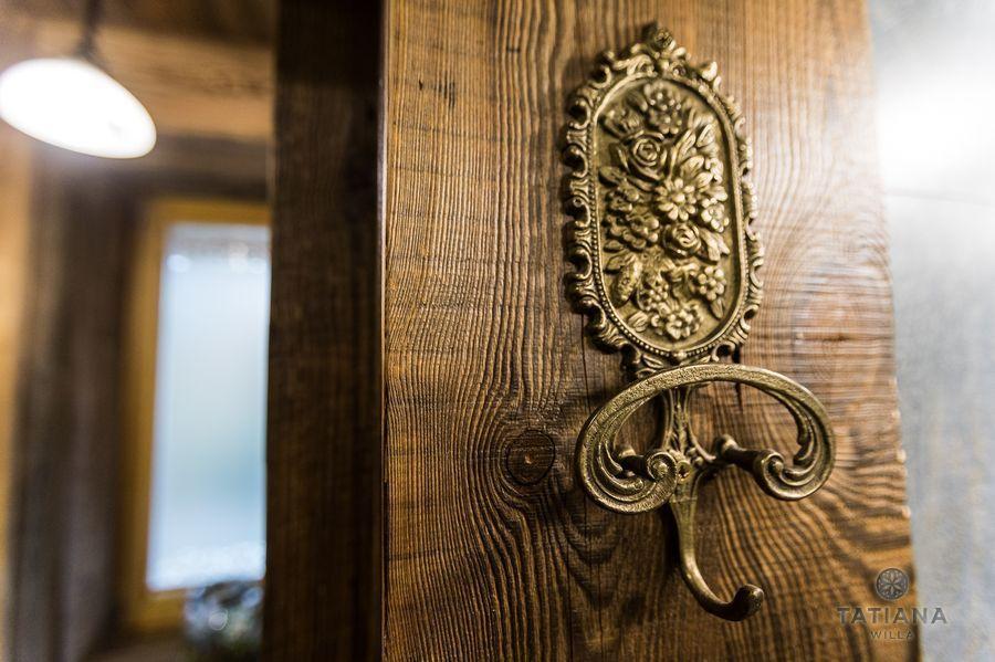 Apartamenty Zakopane Willa Tatiana folk ozdobny wieszak