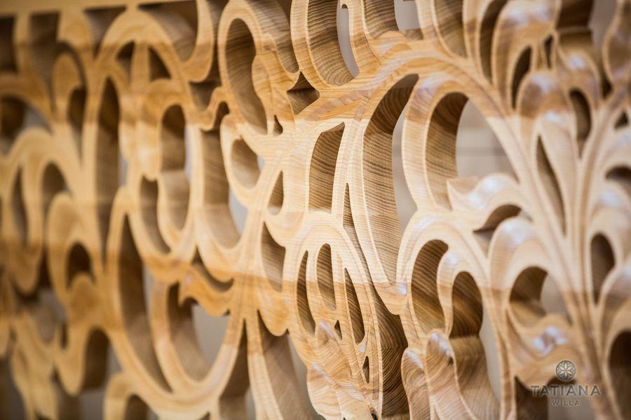 Apartamenty Zakopane Willa Tatiana folk rzeźba w drewnie