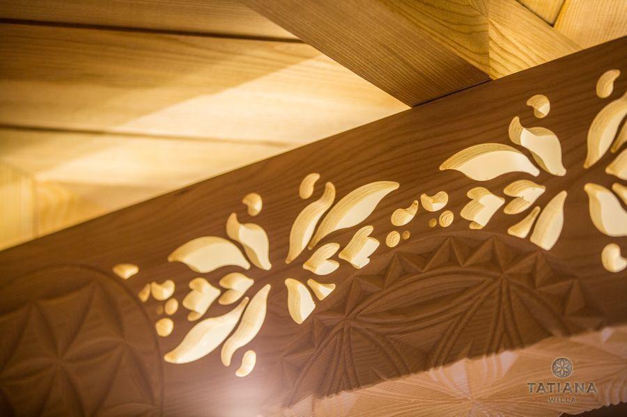 Apartamenty Zakopane Willa Tatiana folk rzeźbione drewno
