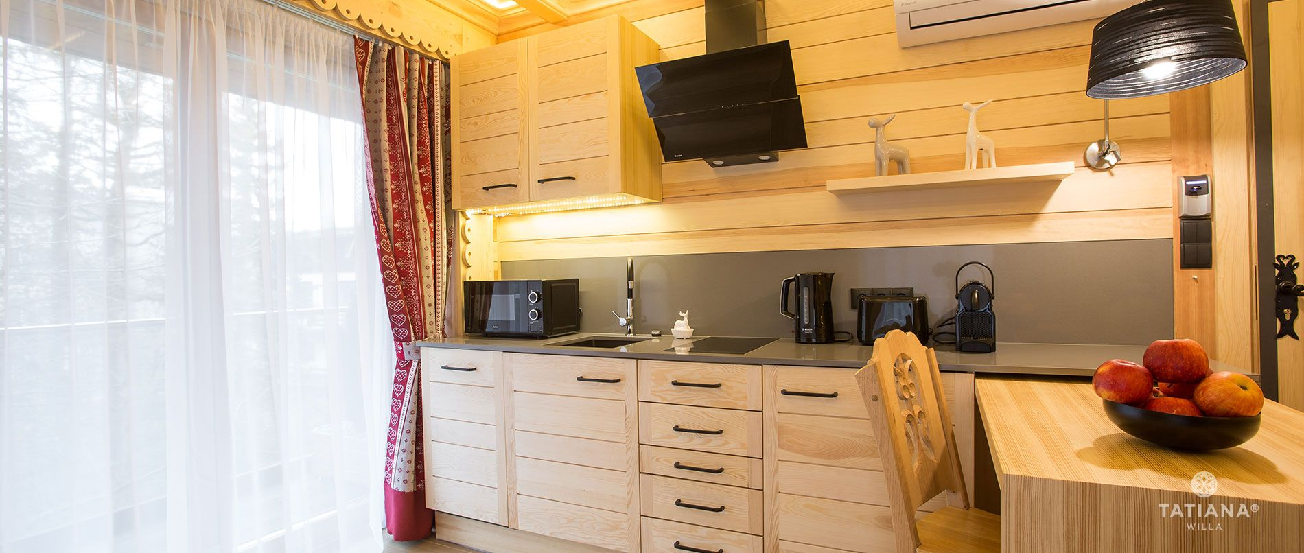 Apartament Alpejski - kuchnia