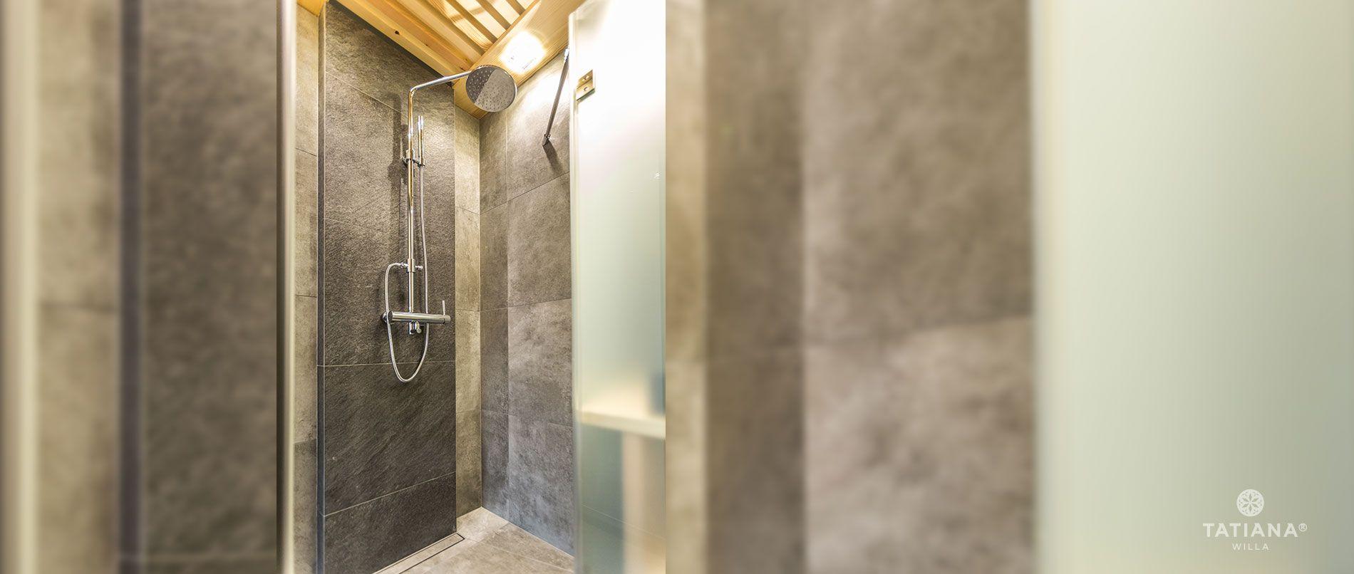 Apartament Alpejski - prysznic