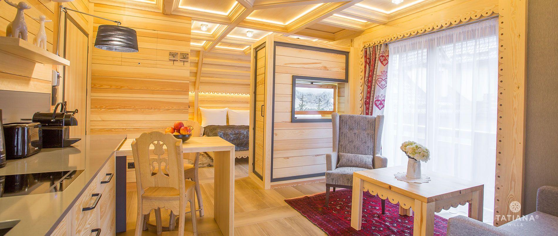 Apartament Alpejski Salon