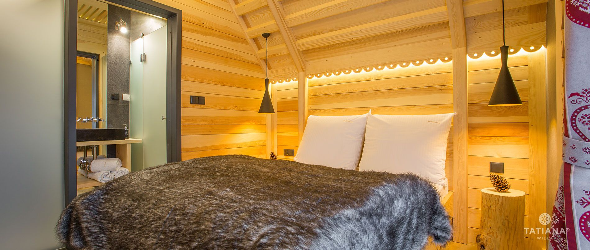 Apartament Alpejski - sypialnia