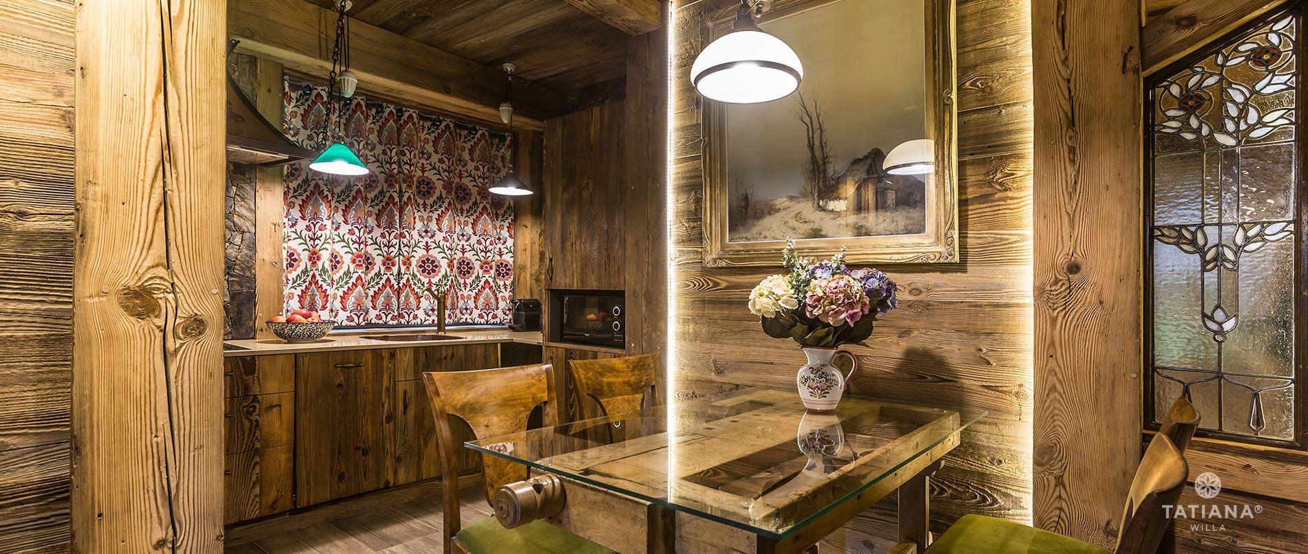 Apartament Karpacki- aneks kuchenny
