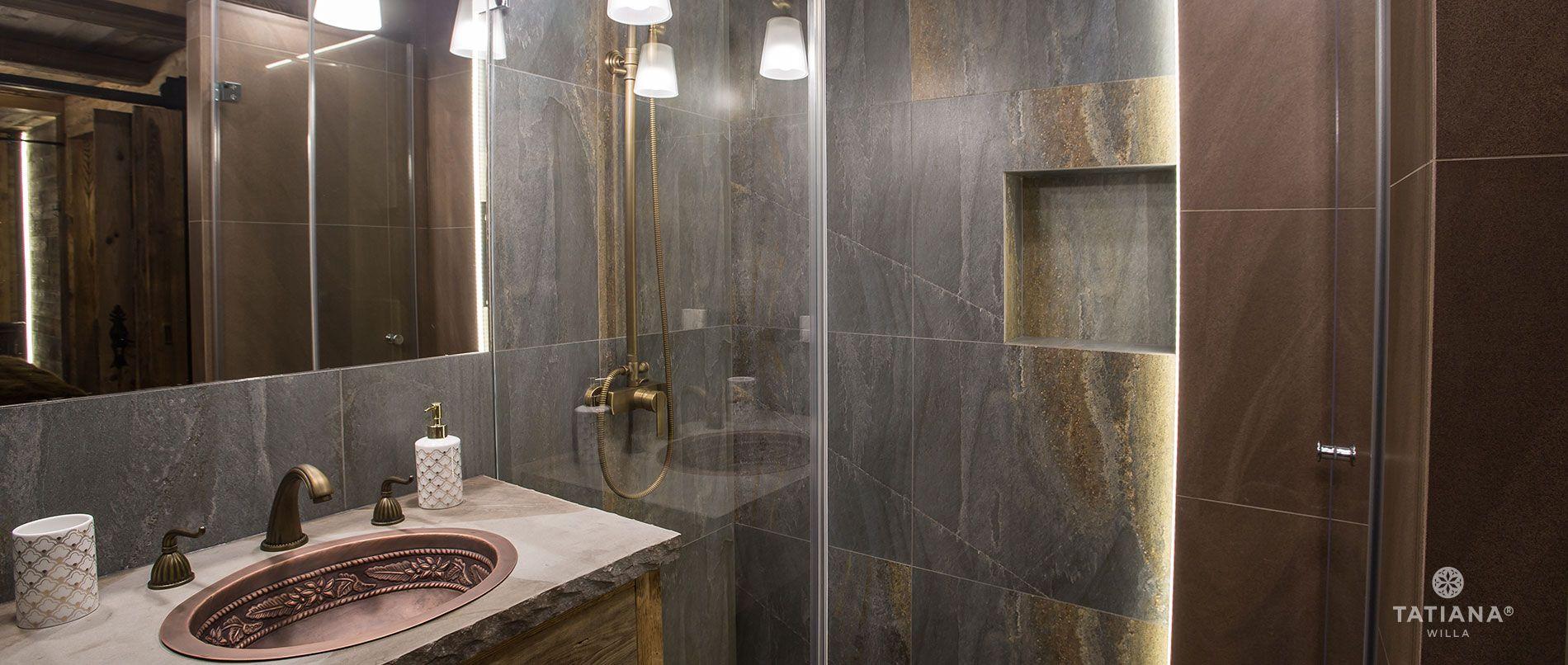 Apartament Karpacki - druga łazienka