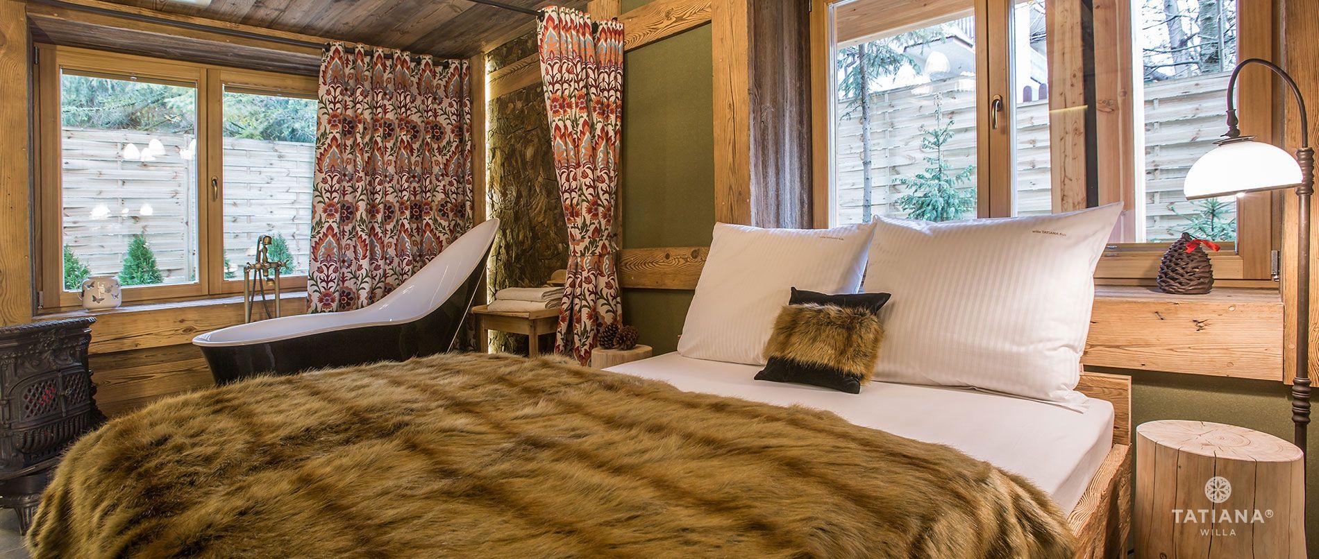 Apartament Karpacki- druga sypialnia