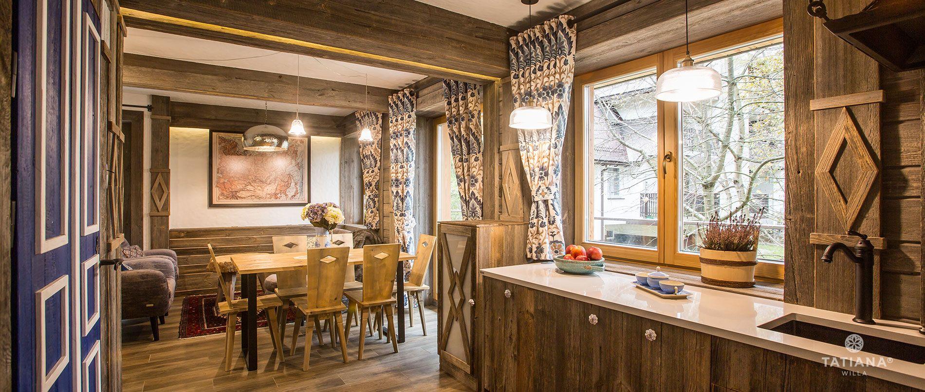 Apartament Syberyjski- aneks kuchenny