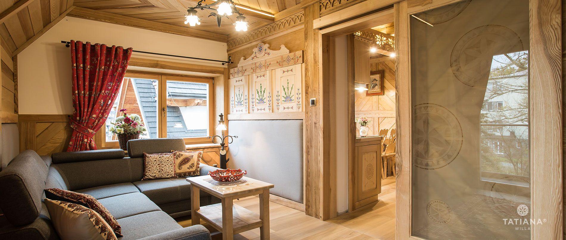 Tatra Apartment - Living room
