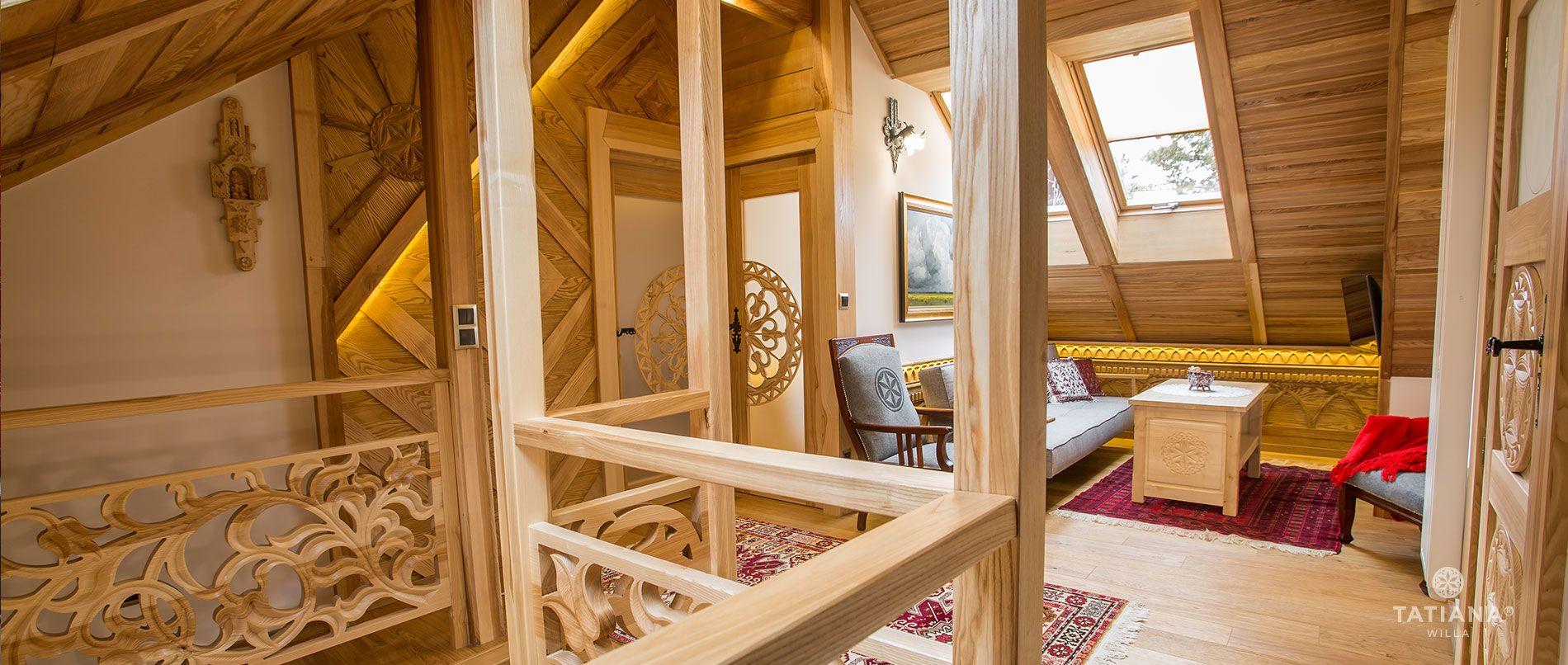 Apartament Tatrzański - salon góra