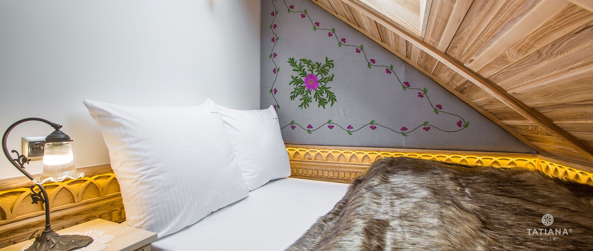 Apartament Tatrzański - druga sypialnia