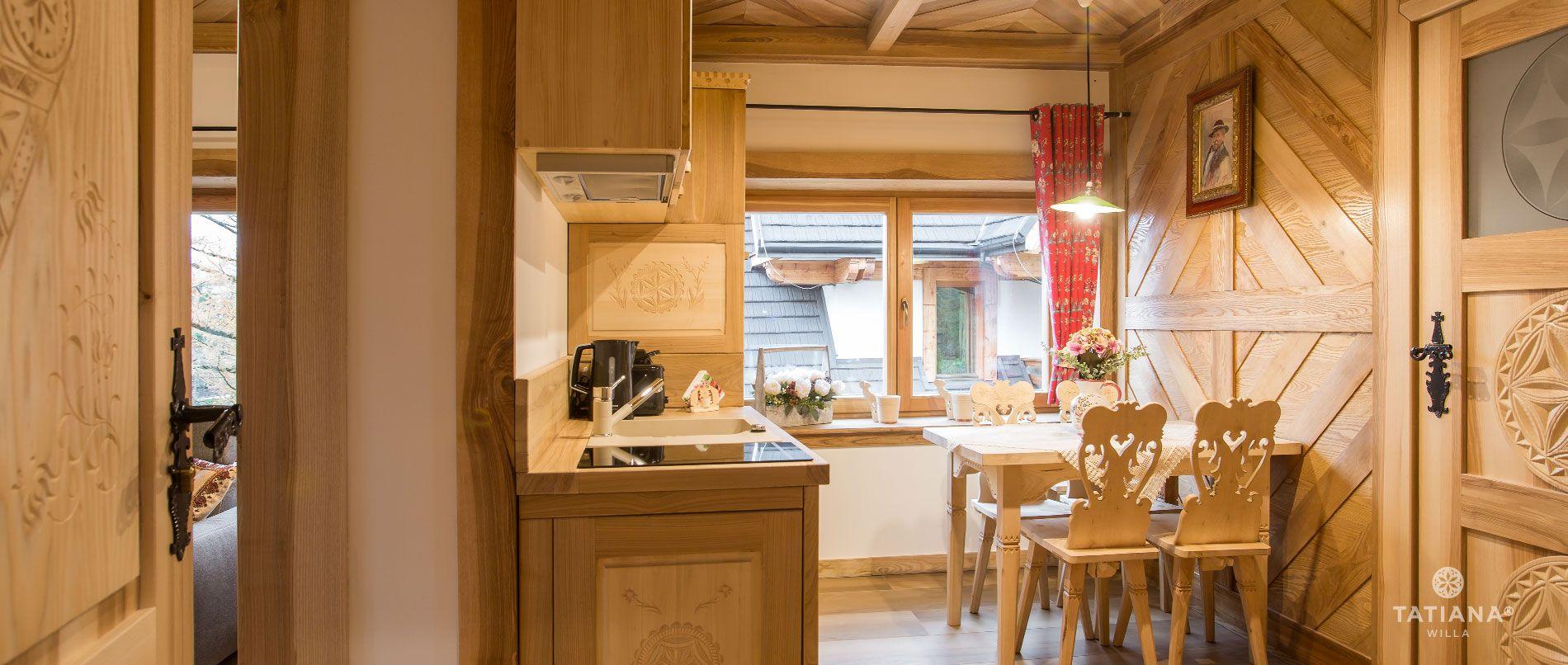 Apartament Tatrzański - kuchnia