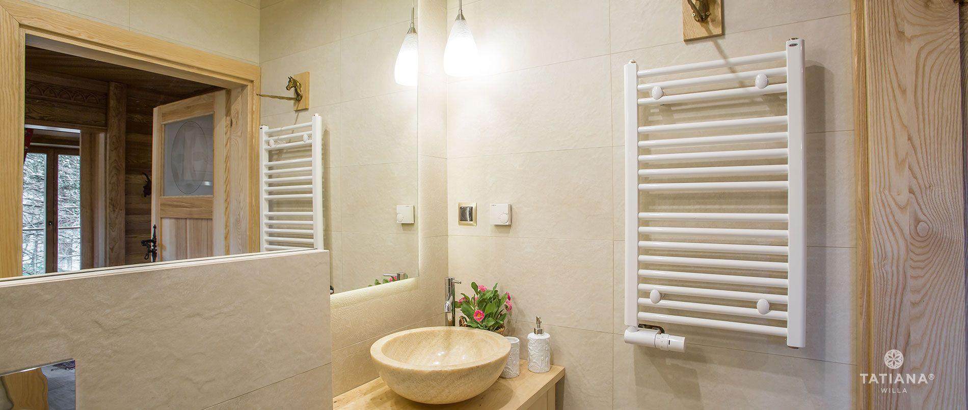 Apartament Tatrzański - łazienka