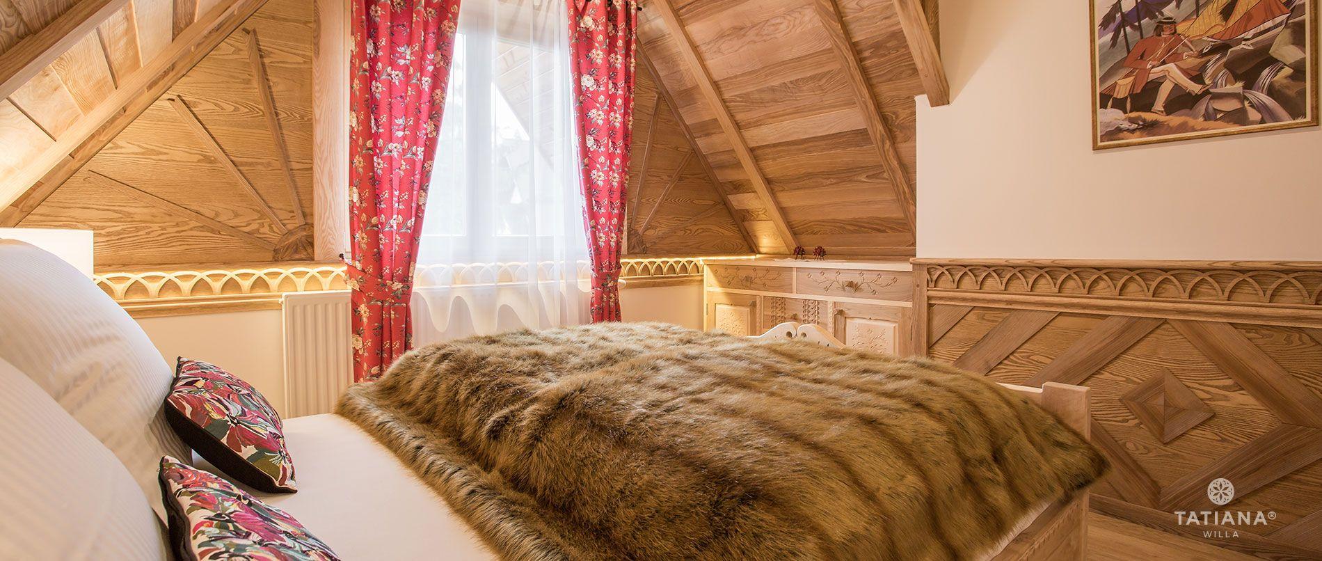 Apartament Tatrzański - sypialnia