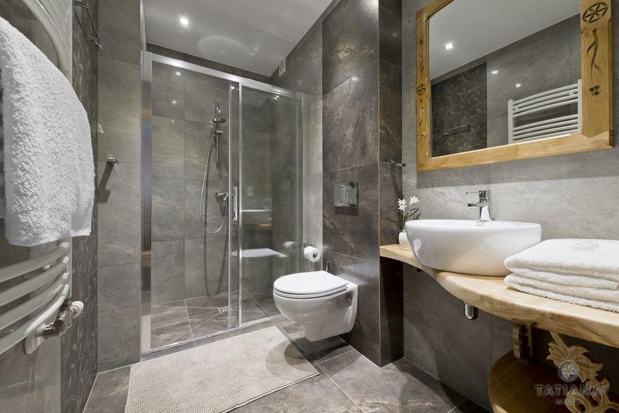 Apartament 12 Willa Tatiana II Zakopane łazienka z kamienia