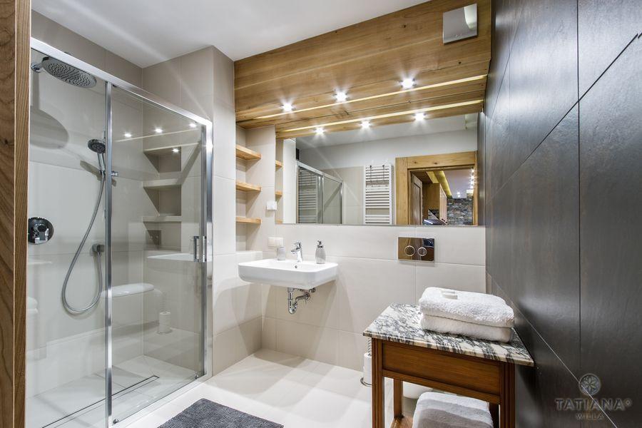 Apartament Czeresniowy Willa Tatiana boutique nowoczesna łazienka