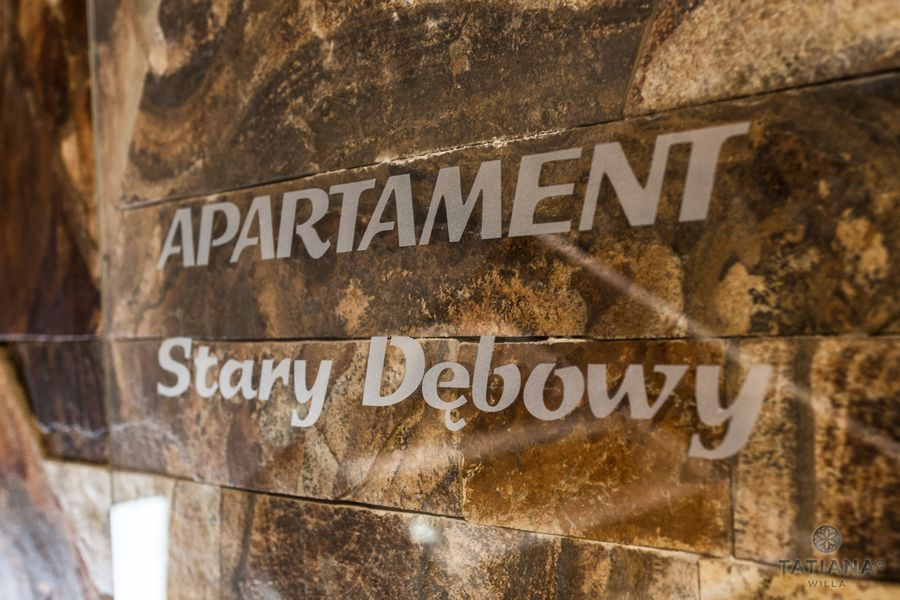 Apartament Debowy Willa Tatiana boutique Zakopane