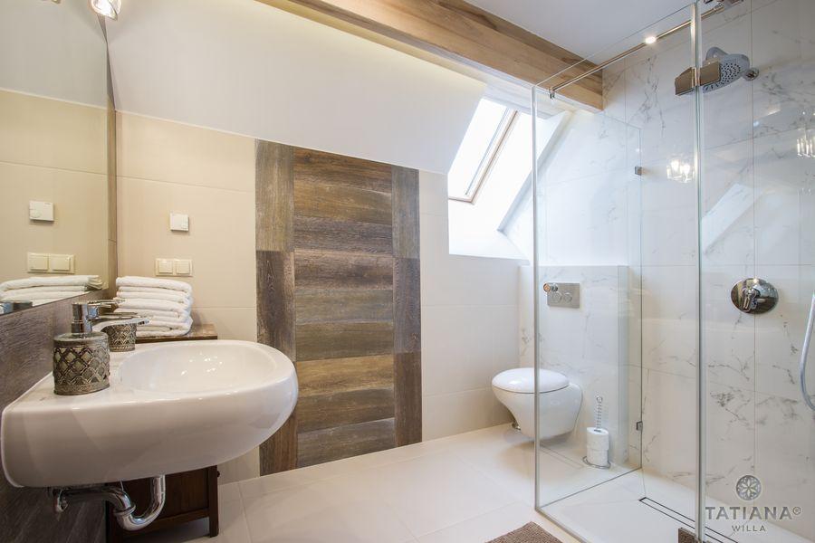 Apartament Jesionowy Willa Tatiana boutique nowoczesna łazienka