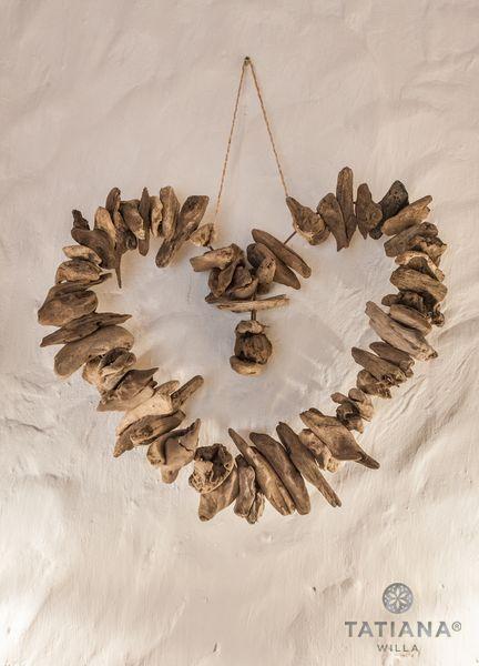 Willa Tatiana boutique serce z drewna