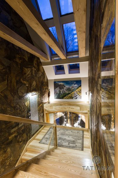 Willa Tatiana boutique Zakopane korytarz